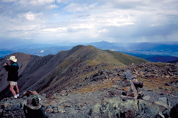 picture of wheeler peak summit
